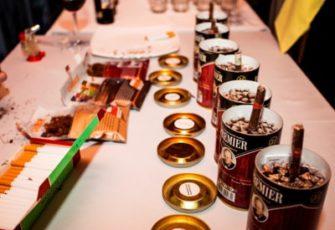 Сигарная зона на заказ с выбором количества сигар и сигарилл с сомелье на выезд для мероприятия в МСК и СПб цена