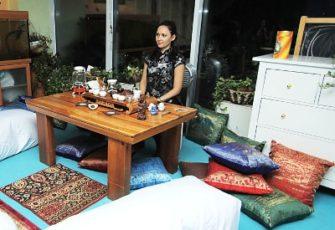 Японская чайная зона с чайным мастером и реквизитом - заказать на мероприятие в МСК и СПб цена