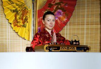 Чайный бар в японском стиле с чайным мастером и реквизитом заказать на мероприятие в МСК и СПб цена