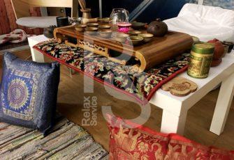 Декорирование чайной зоны или церемонии в китайской стилистике