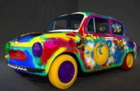 Граффити на авто