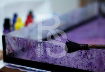 Эбру создание и отрисовка картины на воде заказать цена