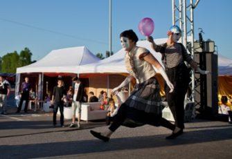 Профессиональная клоунада - заказать на мероприятие в МСК цена, пригласить артистов мимов с номером-клоунадой в СПб стоимость