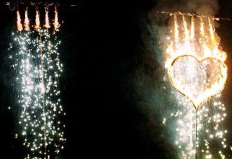 Огнепад заказать на мероприятие падающие искры в МСК и Спб цена, огнепад на свадьбу