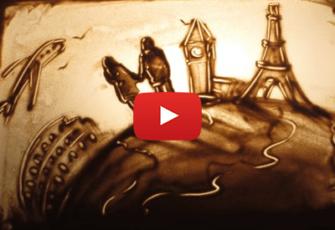 Видео ролик с песочной анимацией заказать создание цена МСК СПЦ