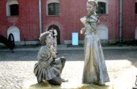 2 живые скульптуры — создание тематических образов