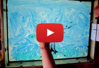 Создание видео ролика с рисованием на воде Эбру заказать цена