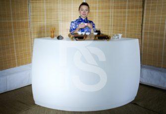Чайный бар с чайным мастером и реквизитом заказать на мероприятие в МСК и СПб цена