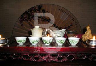 Декорирование чайной зоны или церемонии в японской стилистике