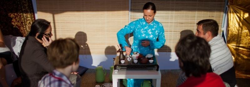 Чайные церемонии и чайные зоны на выезд в СПб и МСК заказать на мероприятие