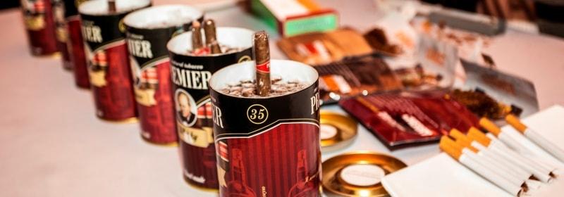 сигарная зона, зона с табаком на мероприятие заказать в СПб и МСК