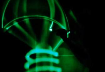Шоу световых картин Космос видео