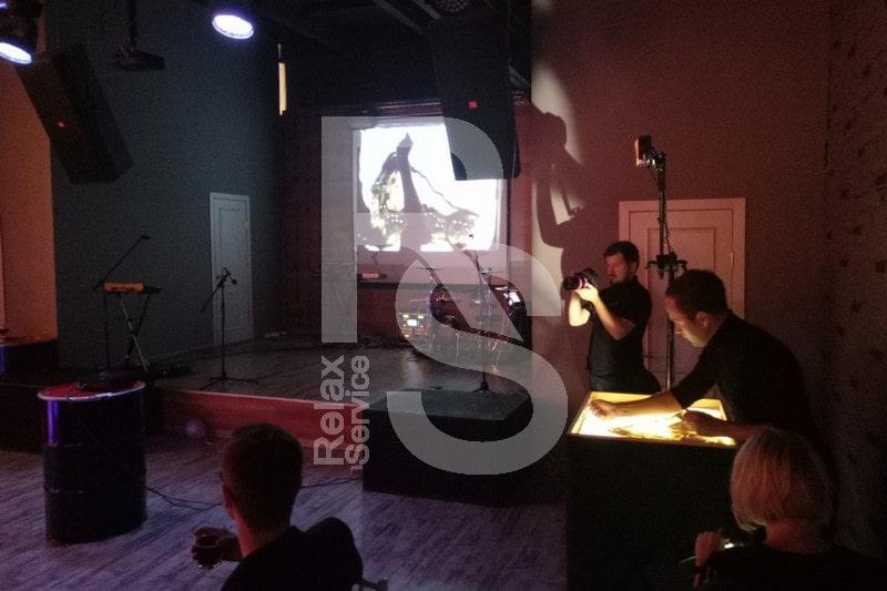 Песочное шоу на день рожденья с индивидуальной программой