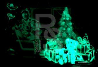 Световые картины для детей на новый год