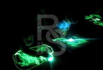 Интерактив для детей со световыми картинами